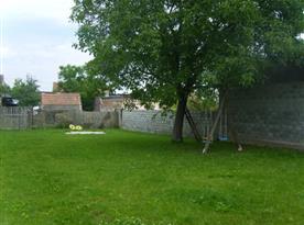 Zahrada u penzionu