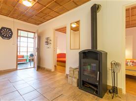 Apartmán B - krbová kamna pro zimní pobyty