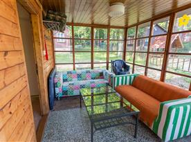 Apartmán B - veranda