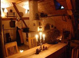 Snídaňová místnost Středověkého hotelu