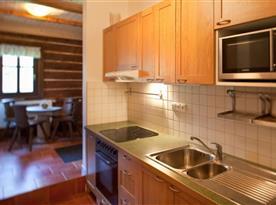 Společná kuchyně v hale
