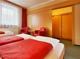 Apartmán Superior - ložnice se šatnou
