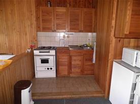 Kuchyňský kout ve společenské místnosti