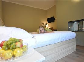 Dvoulůžkový hotelový pokoj