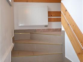 Horní část schodiště