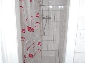 Sprchový kout na sociálním zařízení