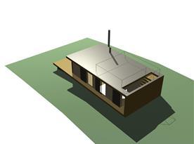 Původní 3D model navržený architektem