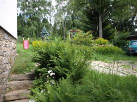 Zatravněná zahrada
