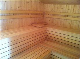 Wellnes s vířivkou a saunou