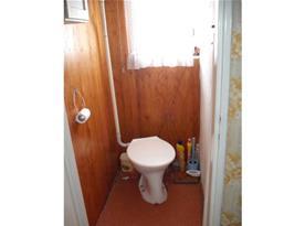 Pohled na samostatné WC