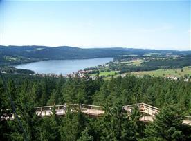 Stezka korunami stromů - výhled