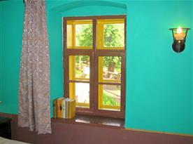 obývací pokoj a ložnice