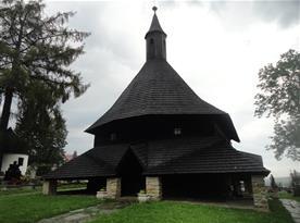 Památka UNESCO - Drevený kostol v Tvrdošíne