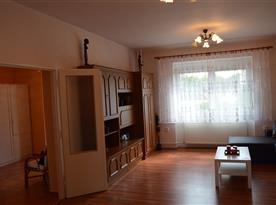 Obývací část - společenská místnost
