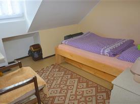 1-lôžková izba so širšou posteľou vhodná pre pár