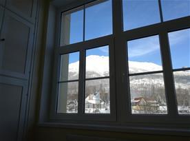 Výhľad z postele