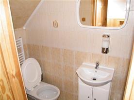 Koupelna v rámci ložnice