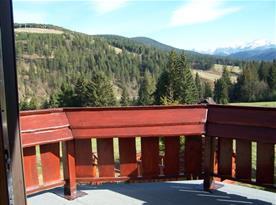 Výhled z balkónu do okolí