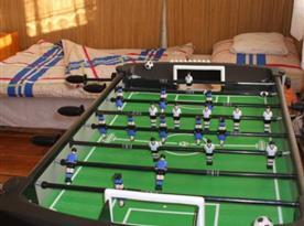 Stolní fotbal v objektu