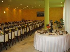 Stylová jídelna v hotelu