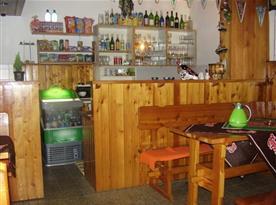 Bar s poszením v chatě