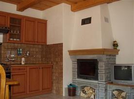 Apartmán B - kuchyně