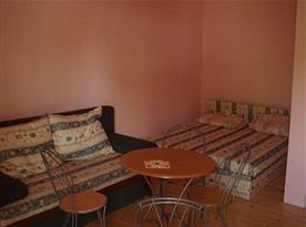 Čtyřlůžkové studio s posezením