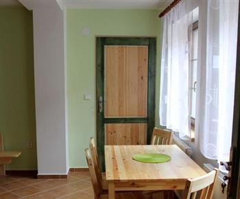 Apartmán č. 2 - posezení