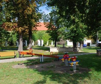 Areál zámeckého parku