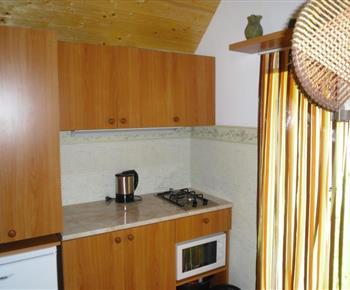 Chatka č. 2 - kuchyňka