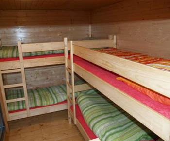 Ložnice B s palandami