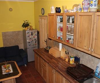 Apartmán A - kuchyně