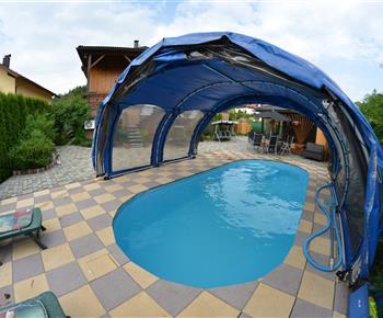 Bazén po dohodě s ubytovateli