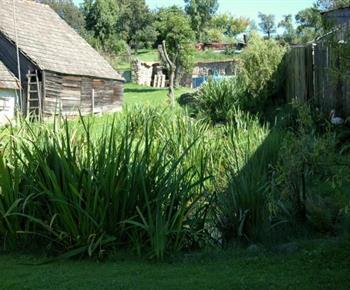 Rybníčky, v pozadí prostřední a horní zahrada