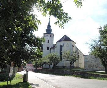 Kardašova Řečice - kostel