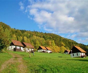 Rekreační domky v krásné přírodě