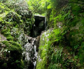 Toulovcovy maštale, údolí řeky Bobrůvky