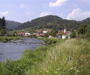 Řeka Svratka pod Vírem