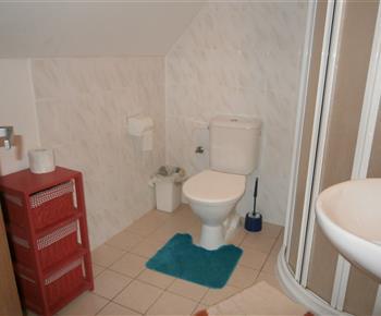 Koupelna nahoře