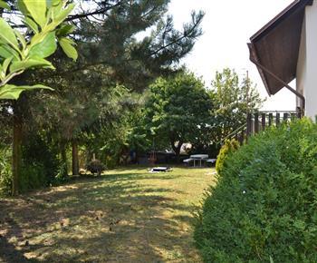 Chata Železnice - zahrada