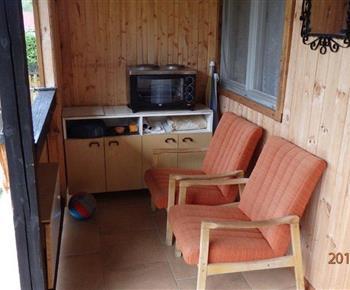 Veranda s posezením - 2 l. pokoj