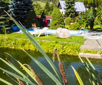 Rybník a bazén