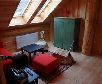 Vybavení jedné z ložnic