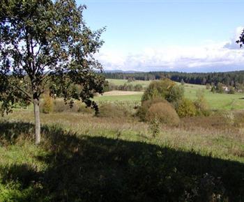 Celkový pohled do okolí Krušných hor