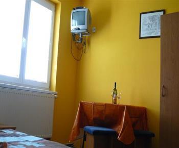 Apartmán s kuchyňkou, koupelnou a televizí