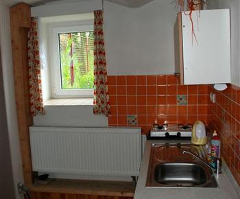 Apartmán č. 3 - kuchyňka