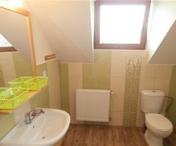 Koupelna s WC v 1. patře
