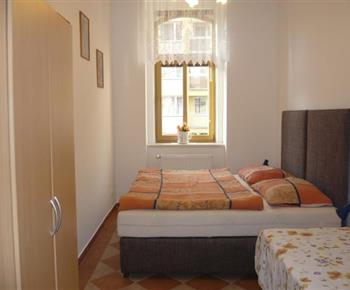 Apartmán č. 1 - ložnice