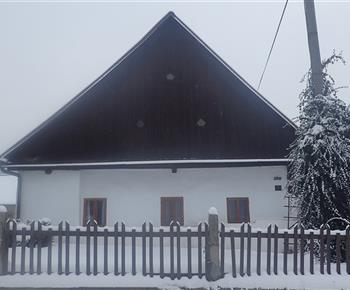 Zimní pohled na objekt