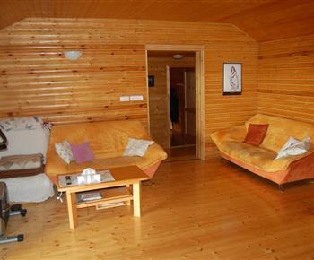 Obývací pokoj s infrasaunou